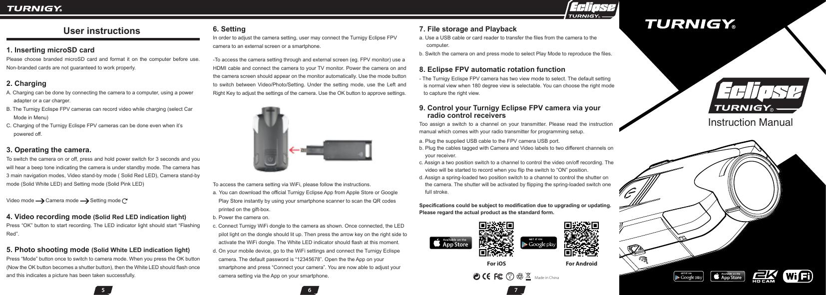 Turnigy Eclipse Action Camera Manual | manualzz com