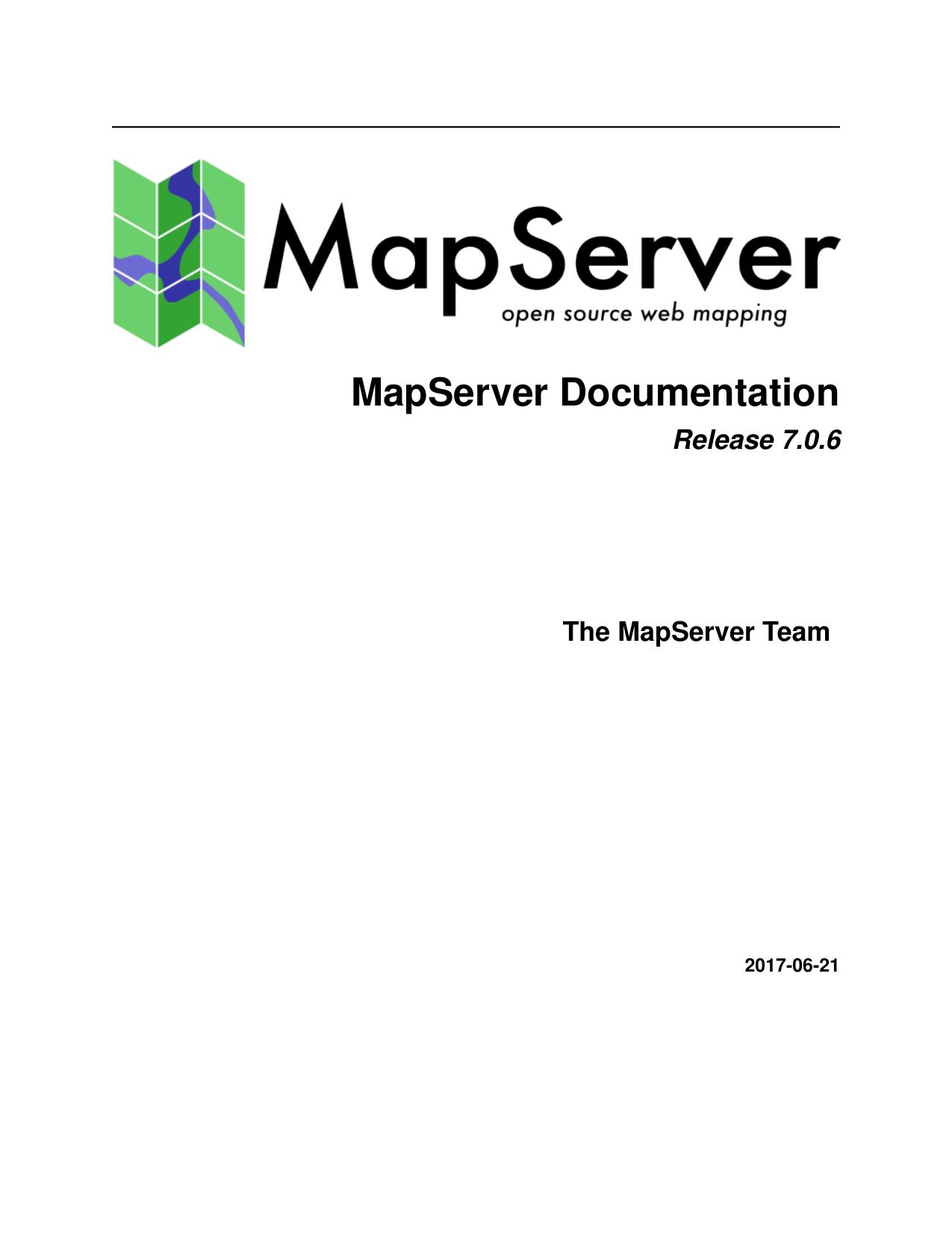 MapServer Documentation | manualzz com