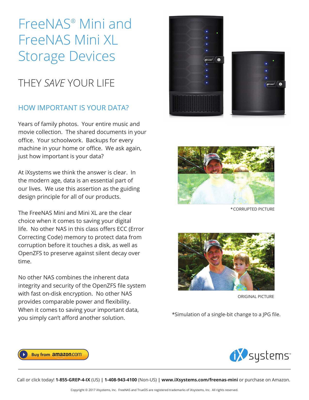 FreeNAS® Mini and FreeNAS Mini XL Storage | manualzz com