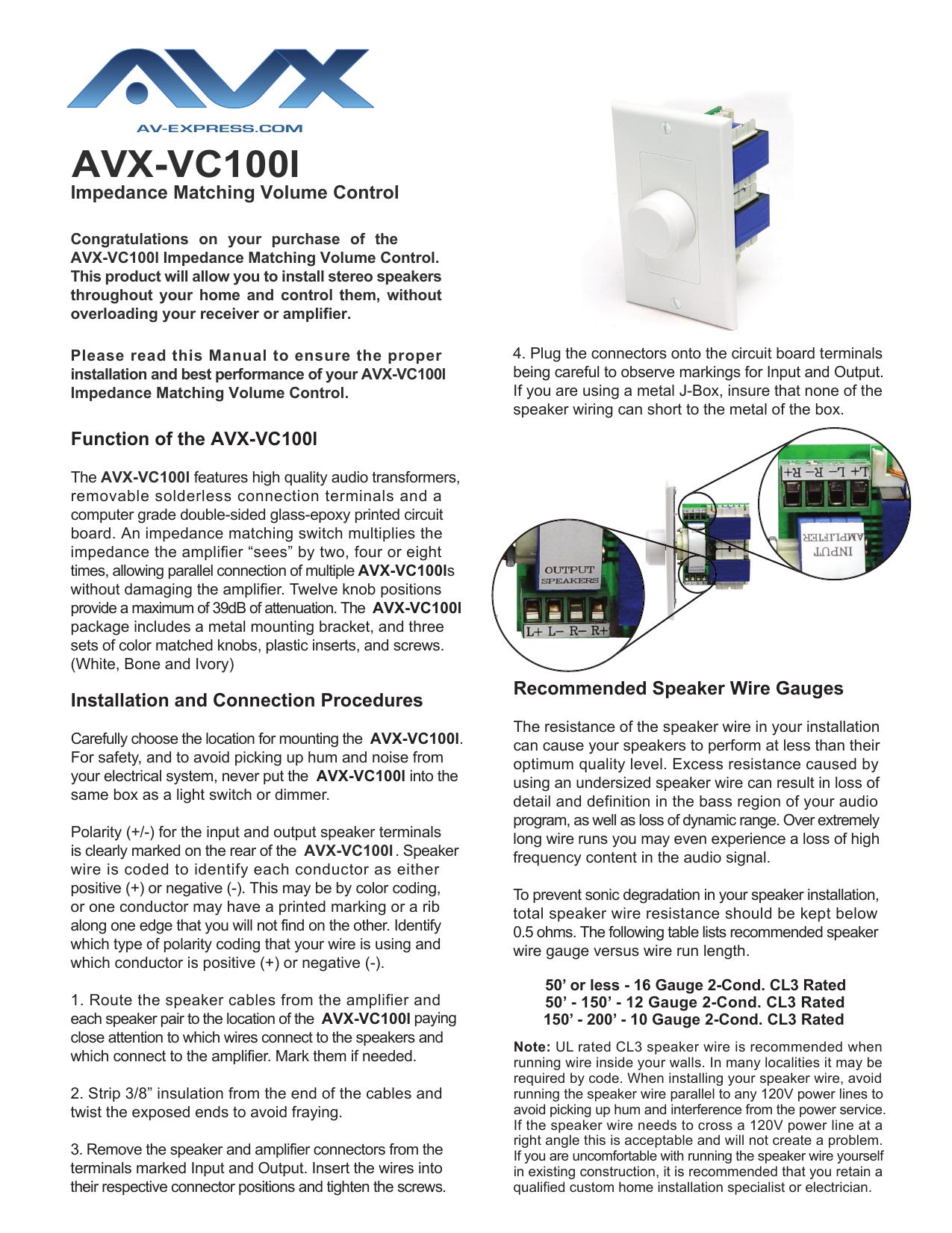 AVX-VC100l Manual | manualzz com