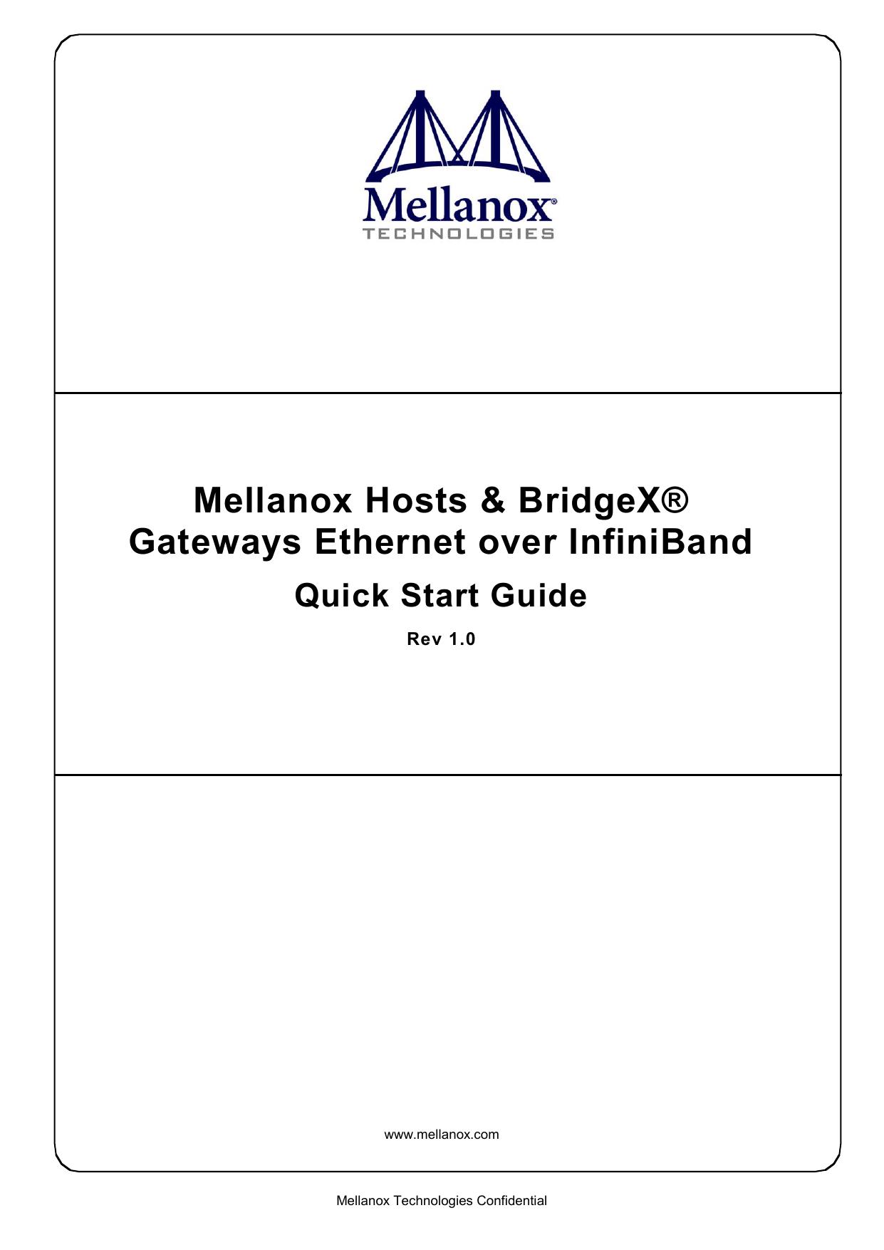 MELLANOX BX4010 GATEWAY TREIBER HERUNTERLADEN
