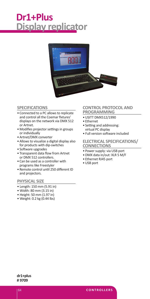 Dr1+Plus Display replicator | manualzz com