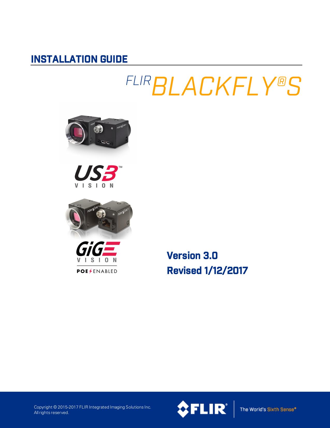 Blackfly S USB 3 0 Installation Guide   manualzz com