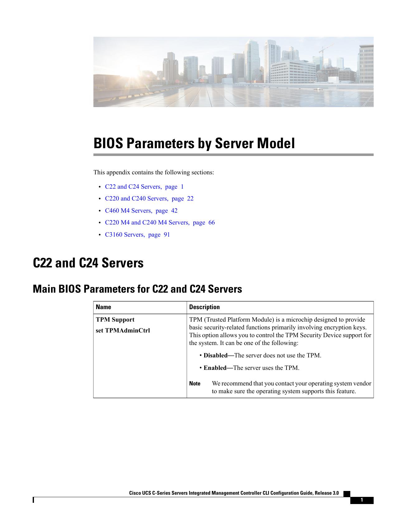 BIOS Parameters by Server Model   manualzz com