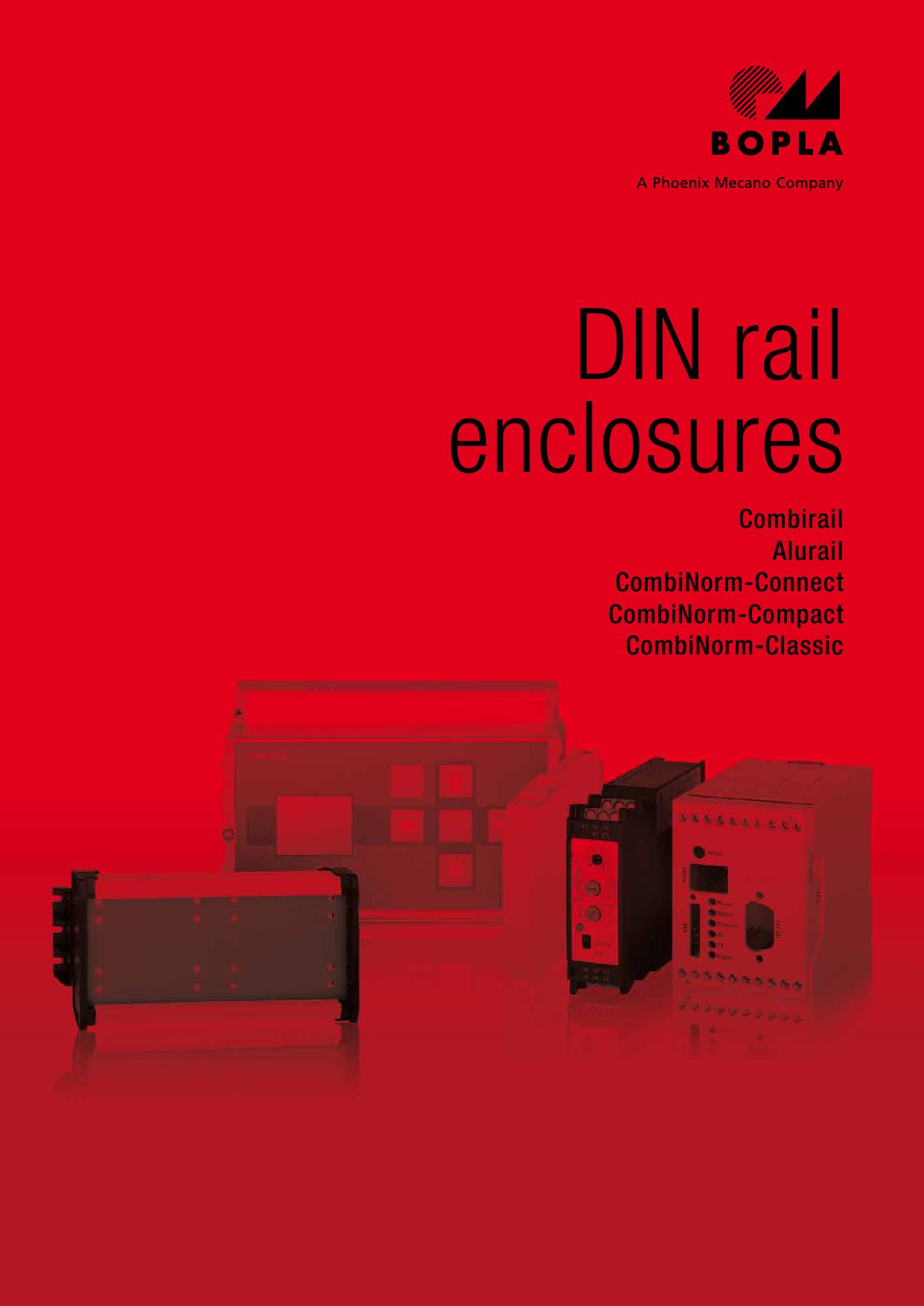DIN rail enclosures   Manualzz