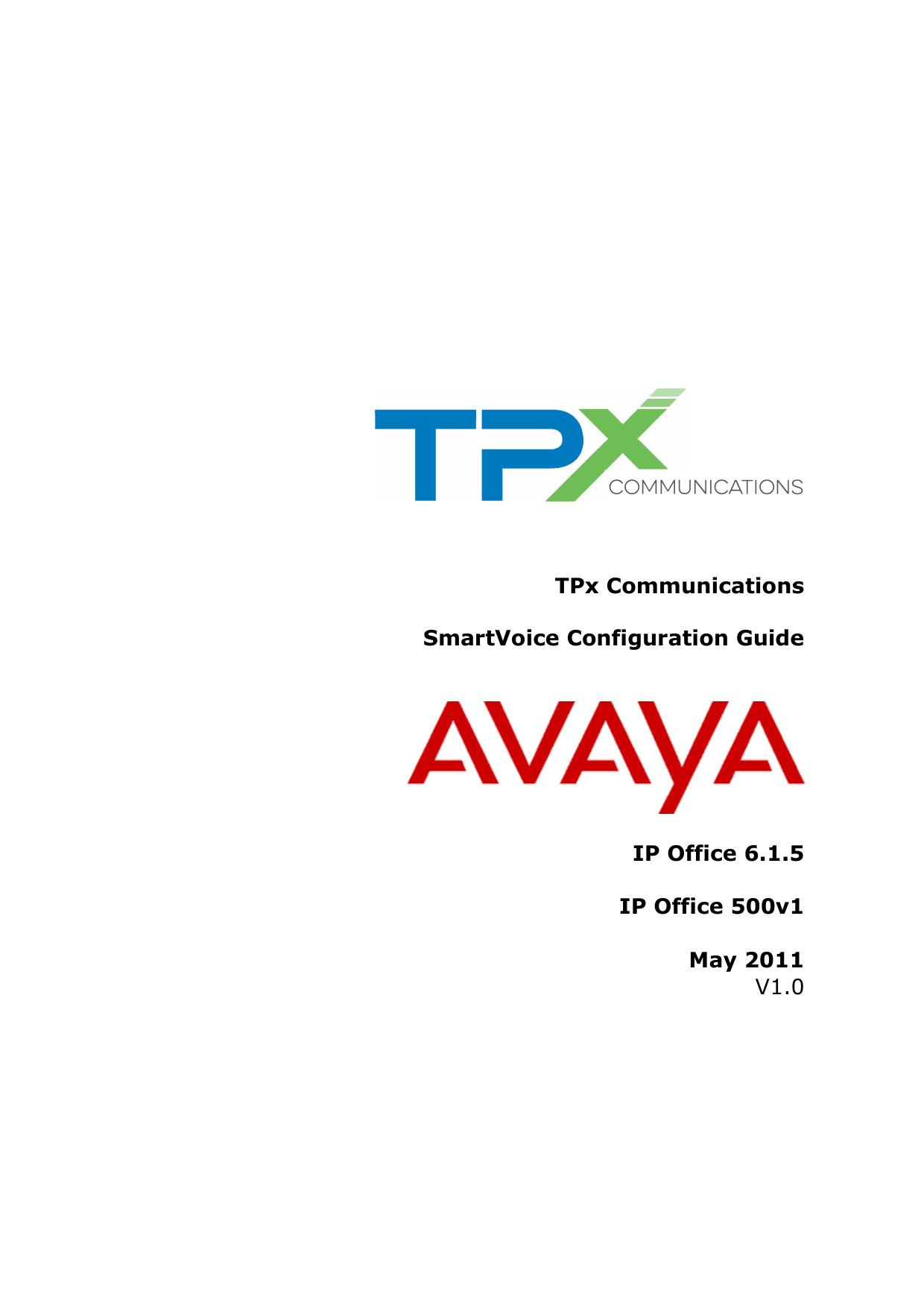 Avaya IP PBX Configuration Guide_6_1_5 | manualzz com