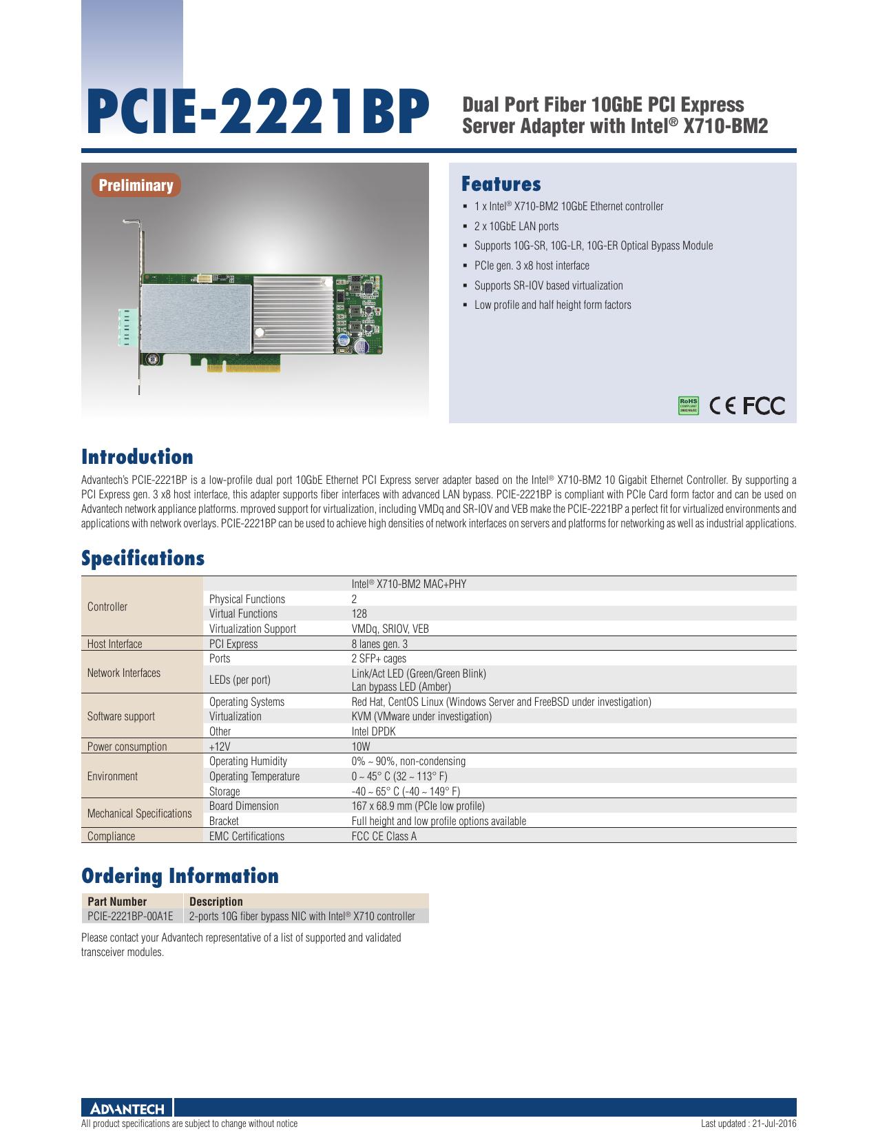 PCIE-2221BP | manualzz com