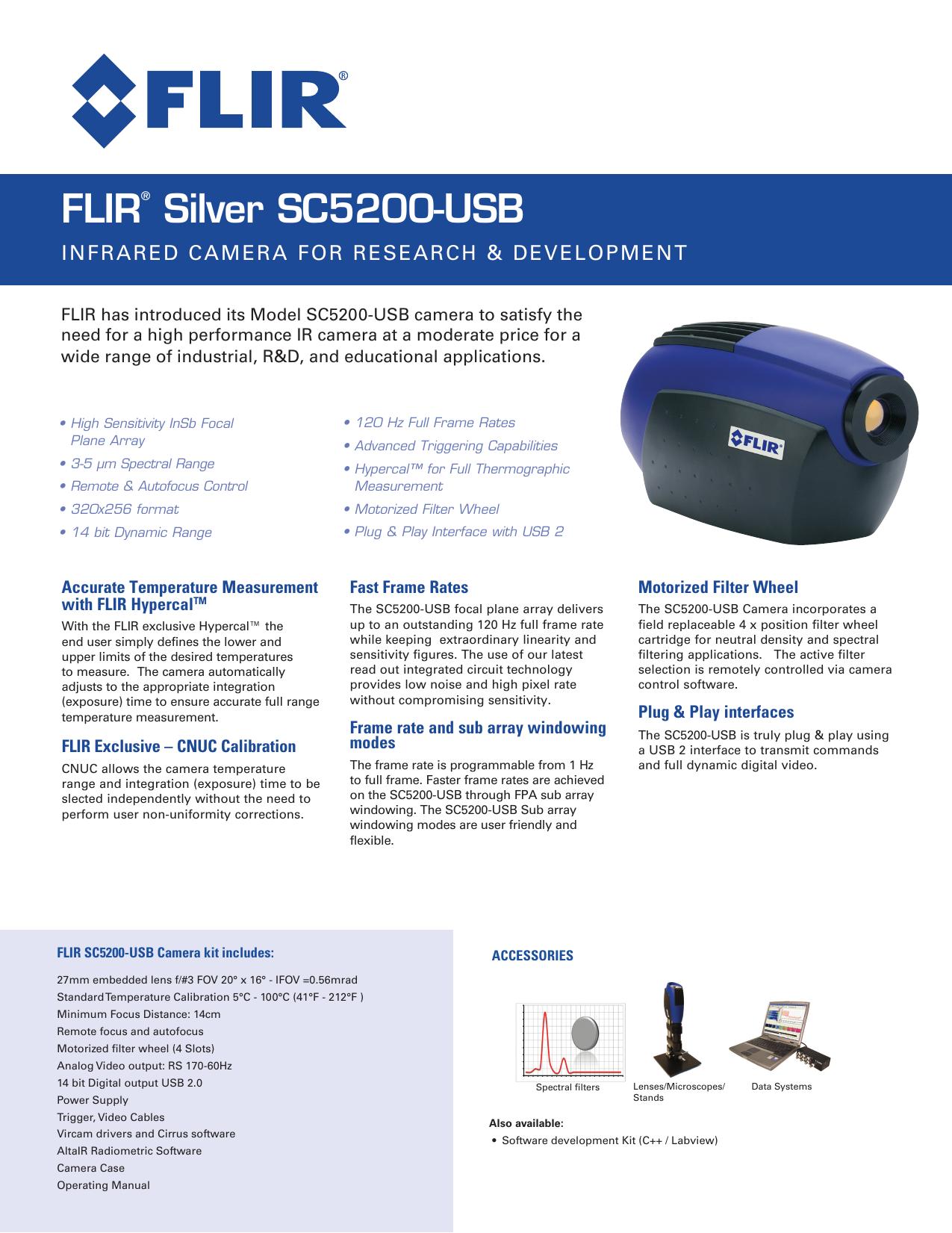 Flir Usb 3 Camera