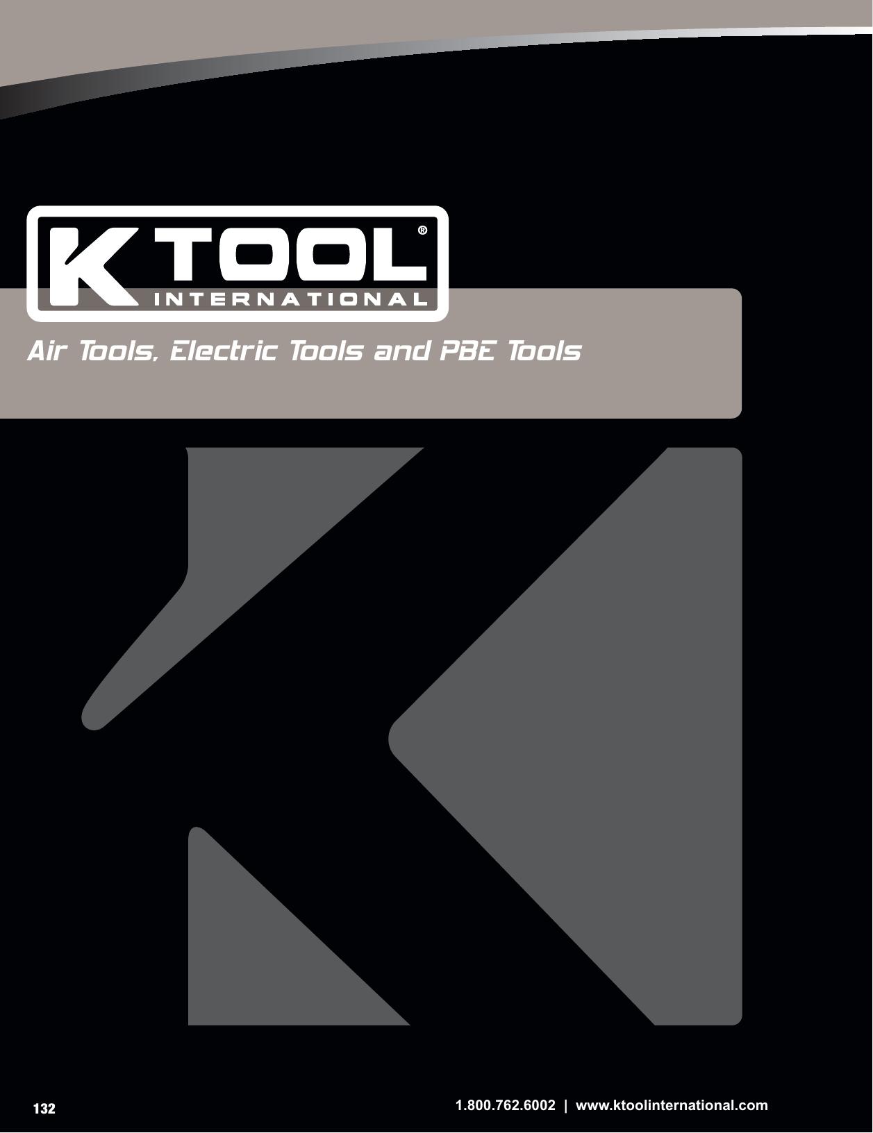 KTI-82503A Air Ratchet K Tool International KTI