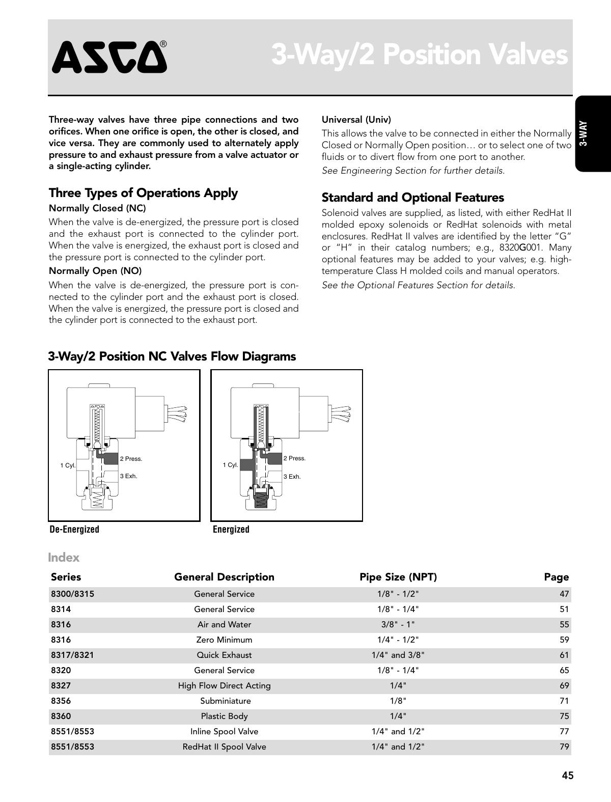 Asco 3 Way 2 Position Intro Manualzz