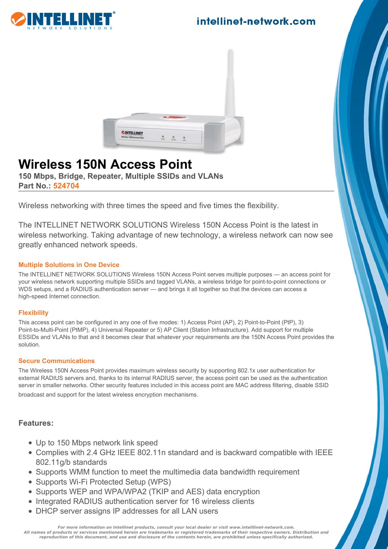Wireless 150N Access Point | manualzz com