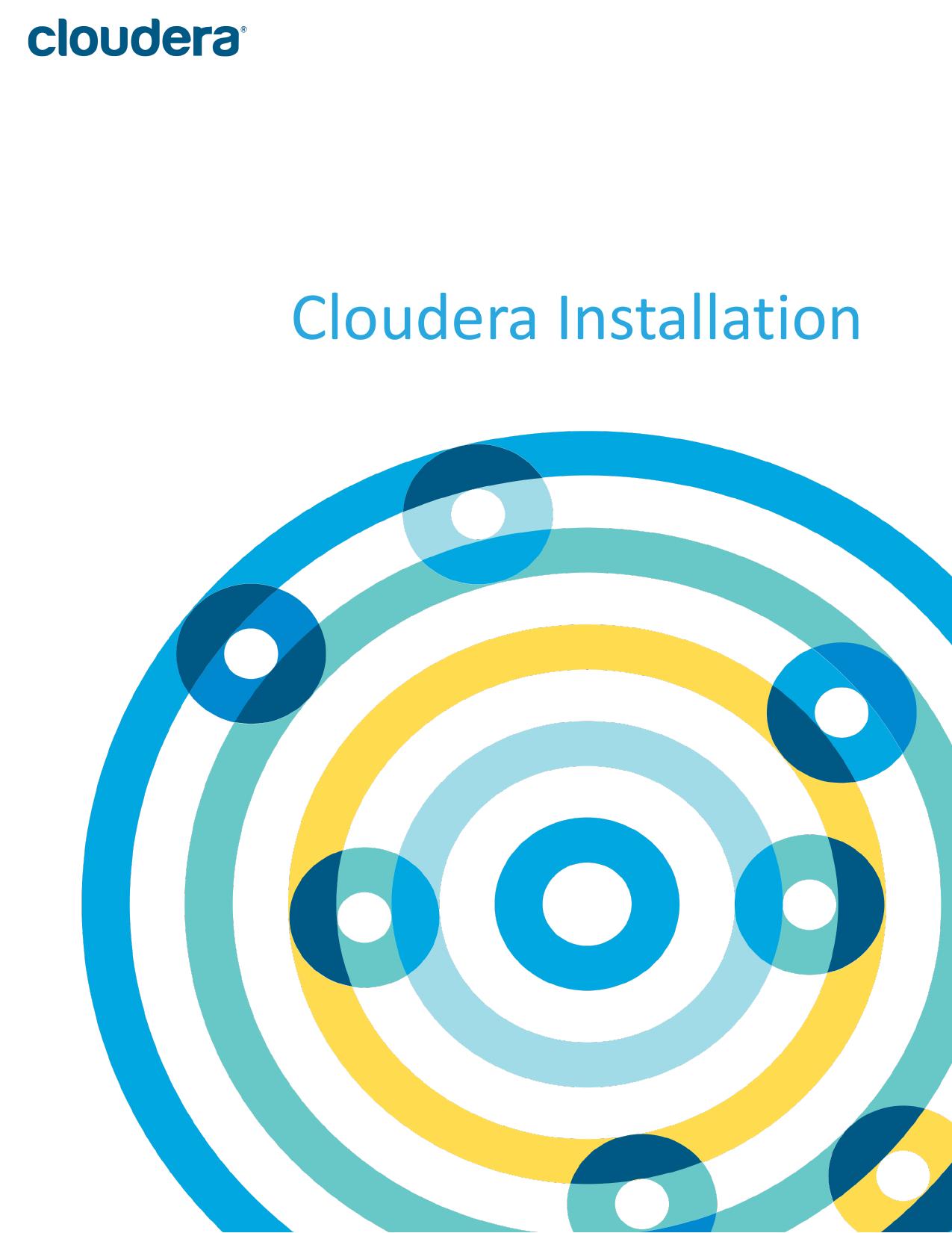 Cloudera Installation | manualzz com