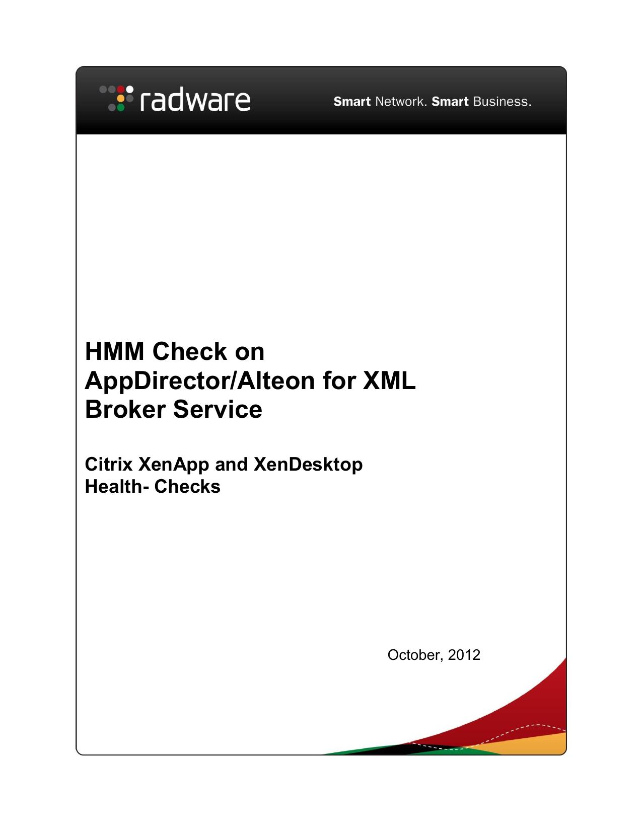 Citrix XenApp and XenDesktop Health-Checks | manualzz com