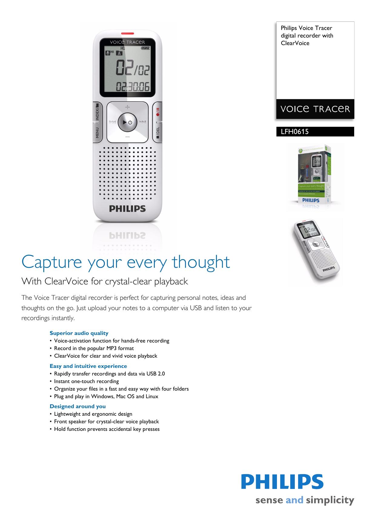 PHILIPS LFH065227 DIGITAL RECORDER DRIVERS FOR WINDOWS MAC