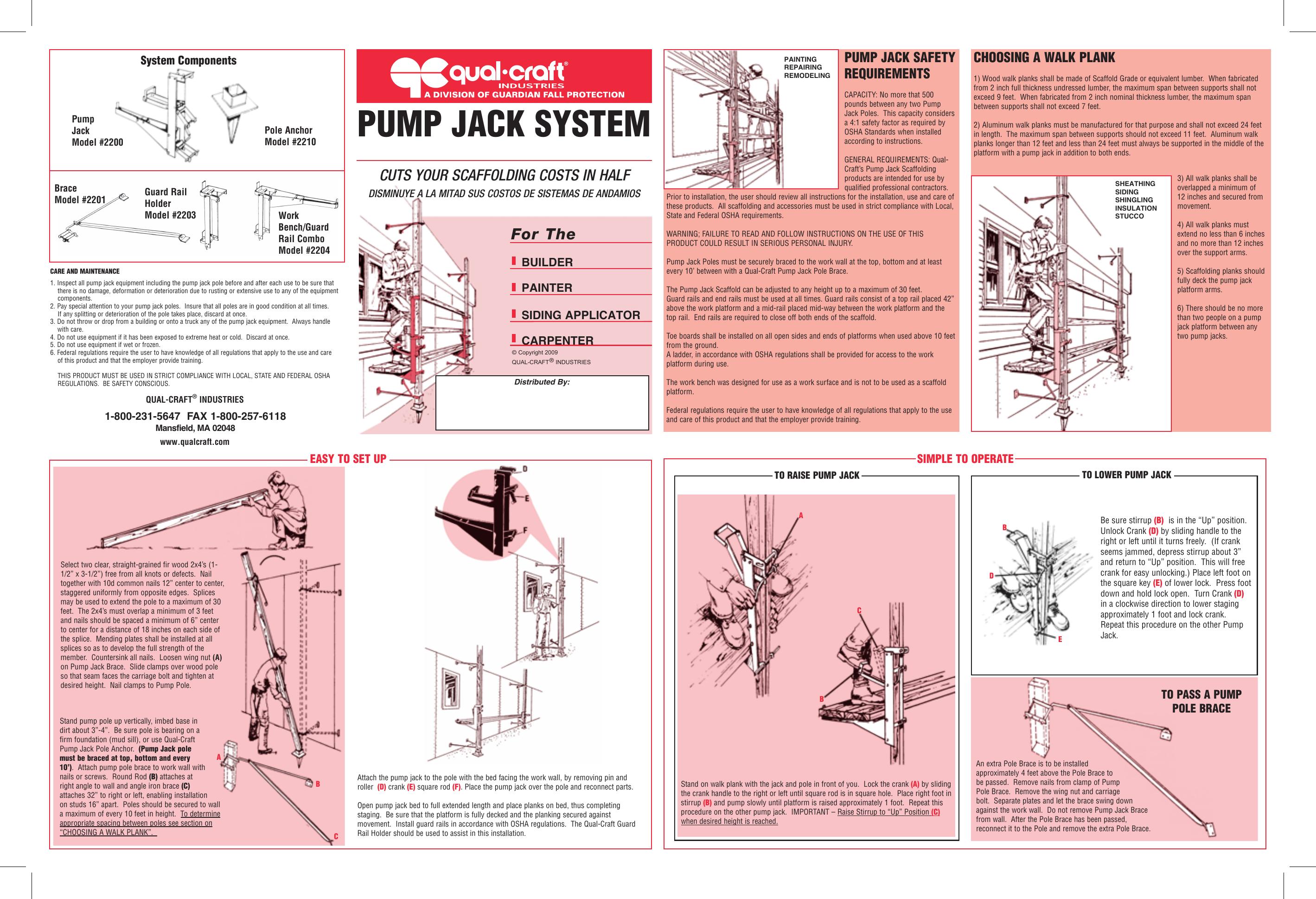 pump jack system | manualzz com