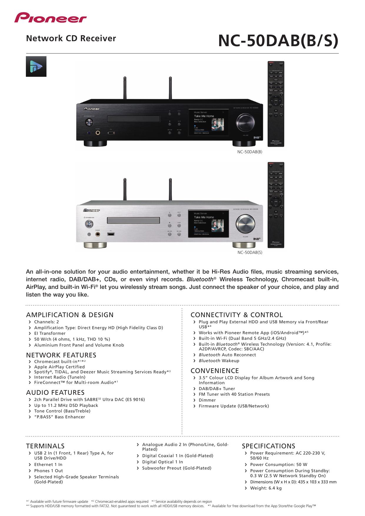 NC-50DAB(B/S) | manualzz com