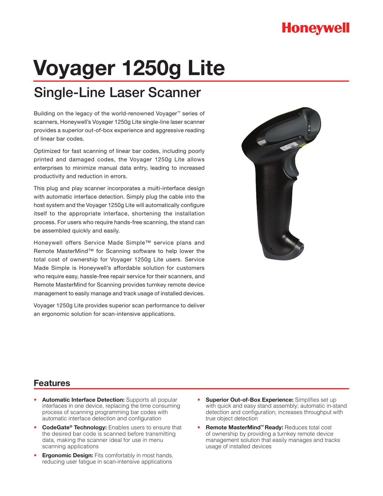 Voyager 1250g Lite - polygonsoftware co za | manualzz com