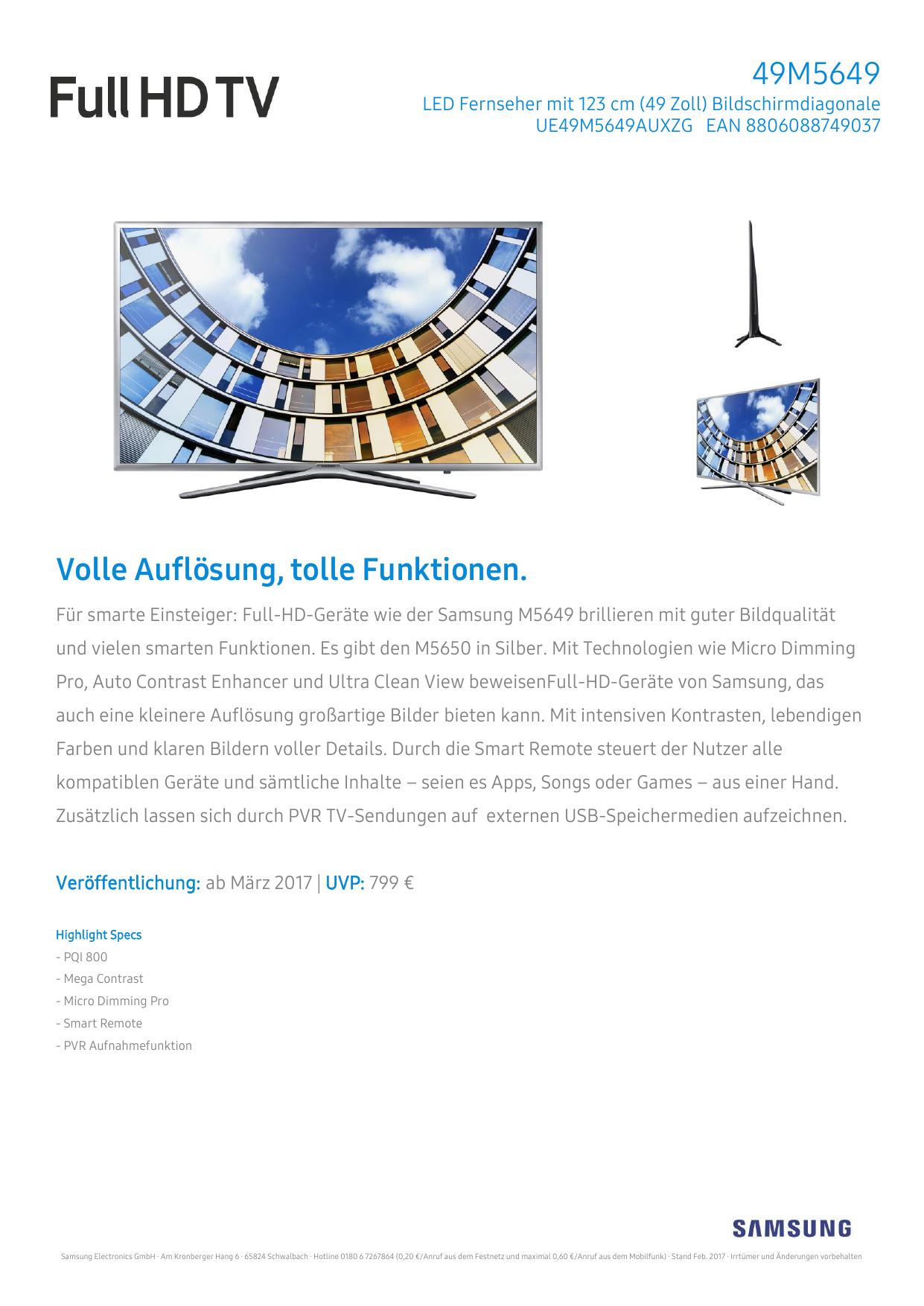 Samsung Ue49m5649 Hifi Im Hinterhof Manualzz Com