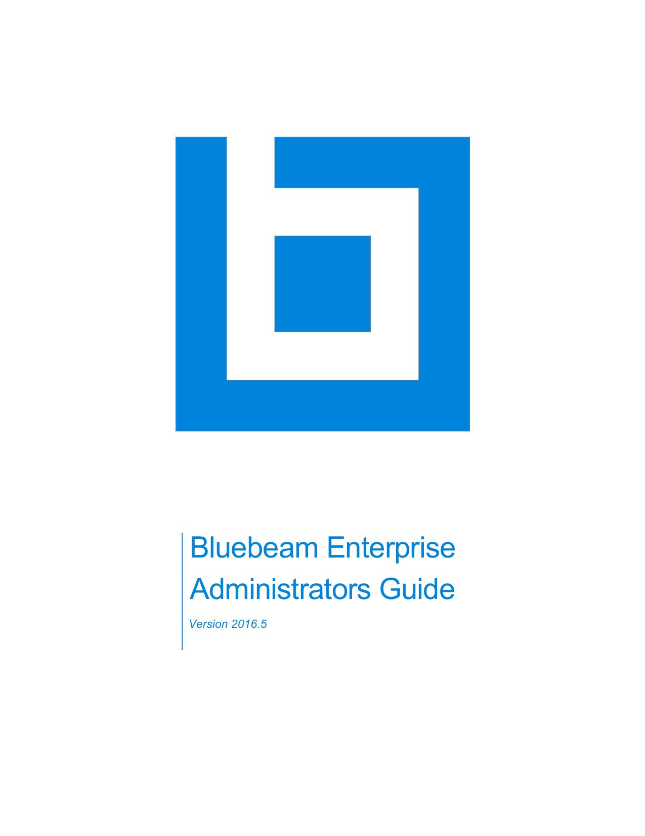 Bluebeam Enterprise | manualzz com