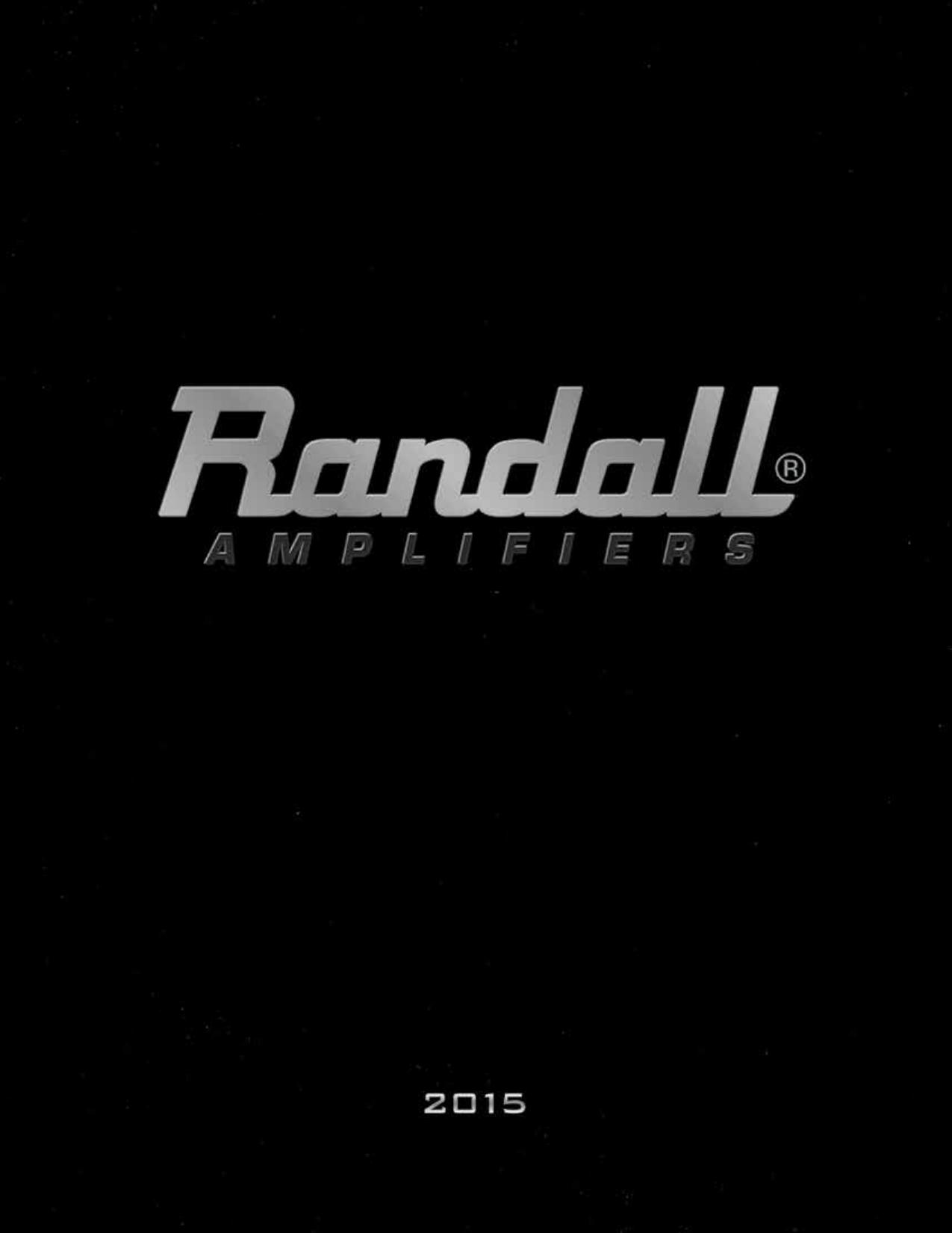 Randall Catalog | manualzz com