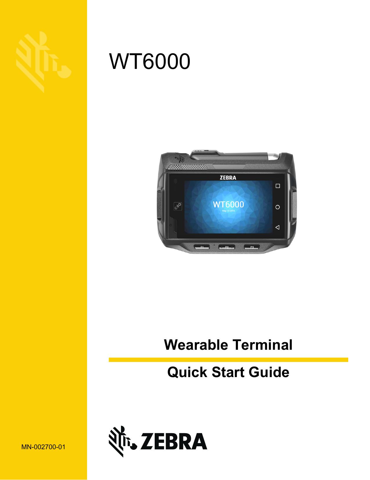 WT6000 - Strategic Mobility Group | manualzz com