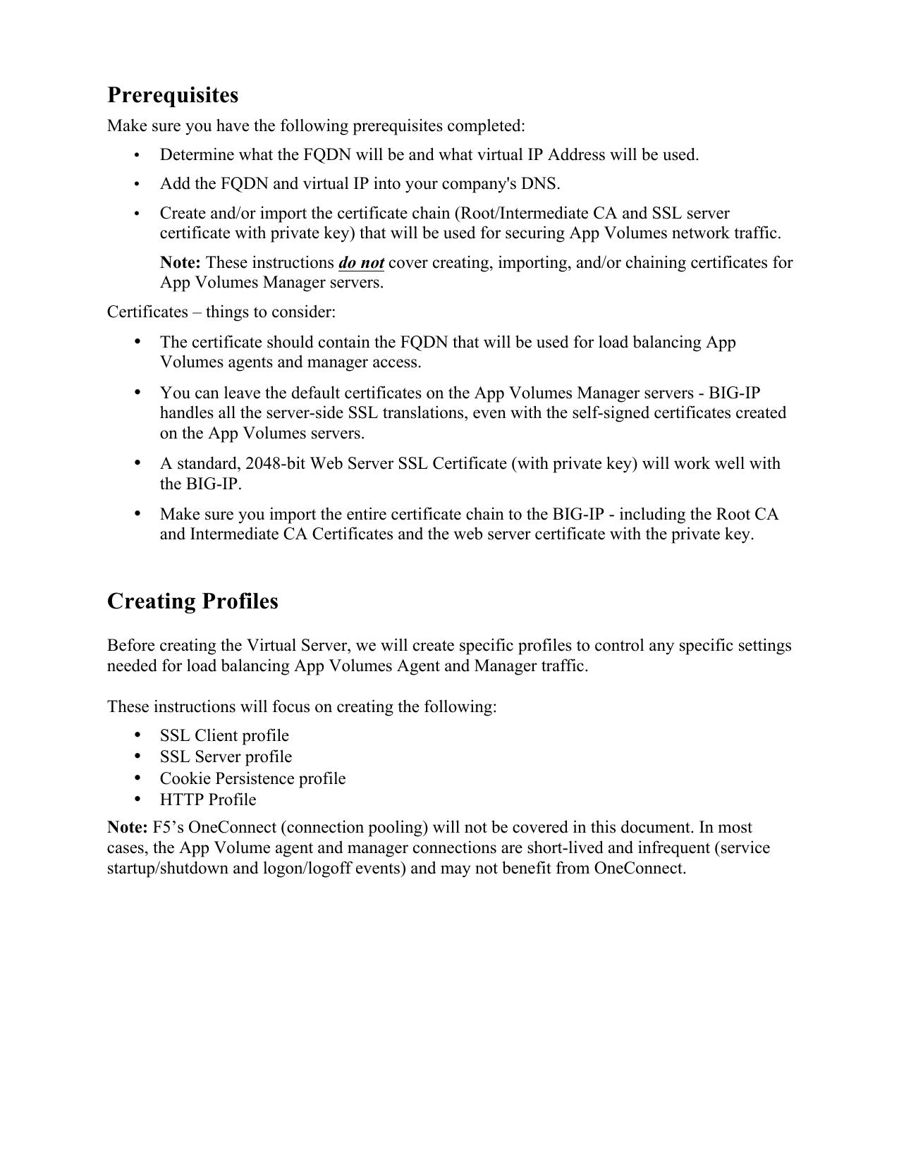 F5 App Volumes Configuration Guide v1 0 | manualzz com
