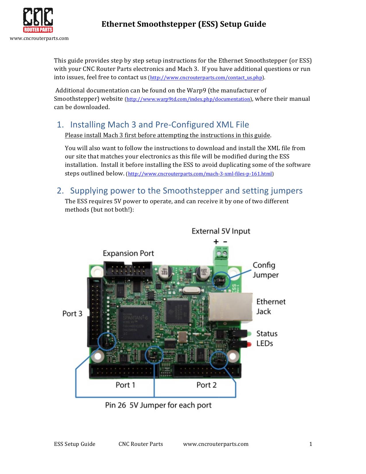 Ethernet Smoothstepper Instructions | manualzz com