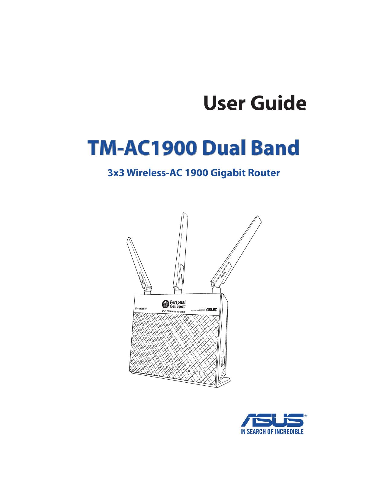 User Guide TM-AC1900 Dual Band | manualzz com