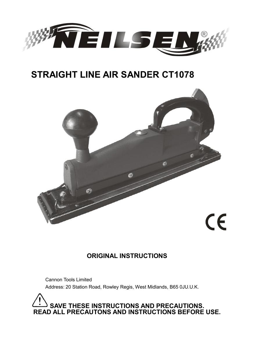 research.unir.net Motors Air Grinders Neilsen Air Straight Line ...