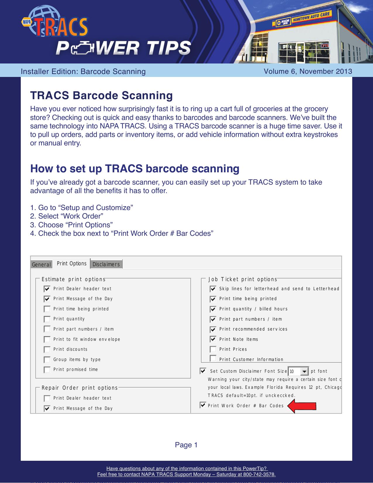 1113 TRACS Barcode Scanning | manualzz com