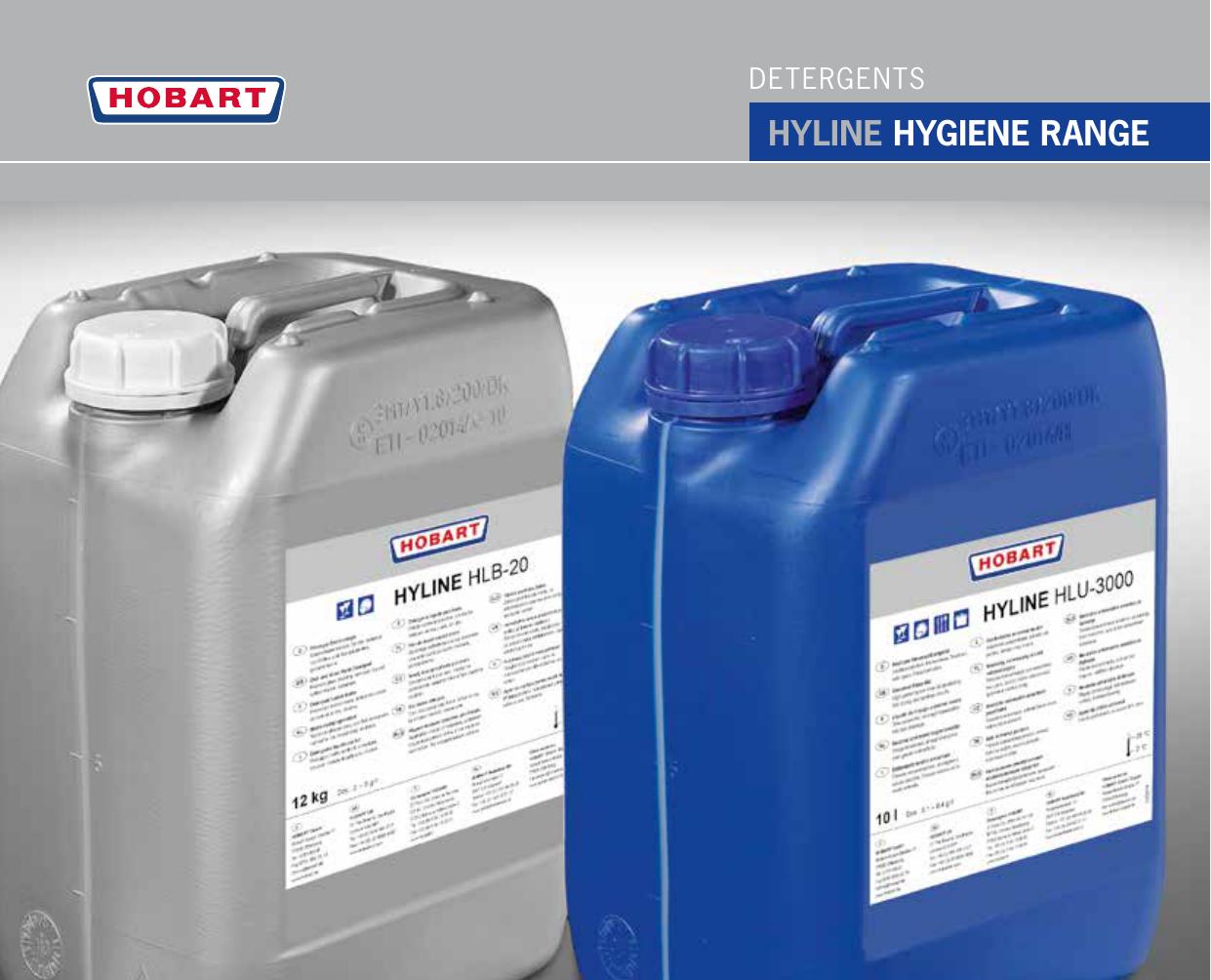 hyline hygiene range - hobart | manualzz com