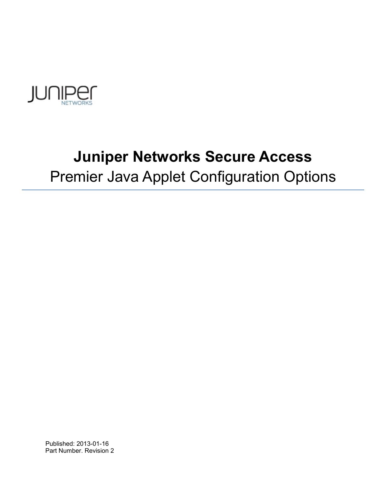 Premier Java Applet Configuration Options | manualzz com