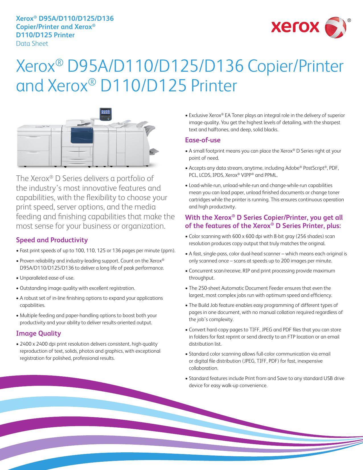 Xerox Copier D95
