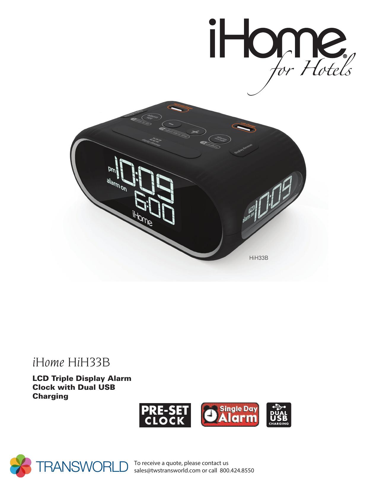 HiH33 Spec indd | manualzz com