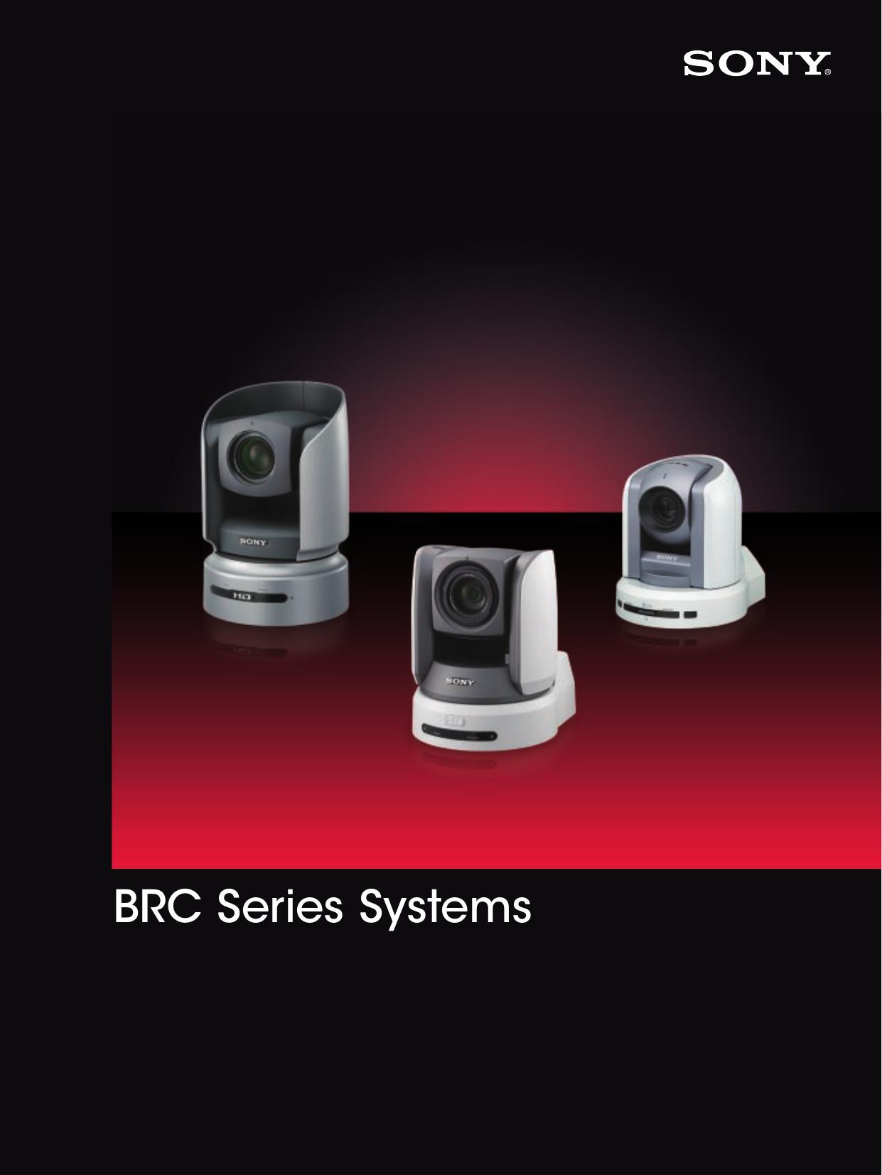 SONY BRU-300 Optical Multiplex Unit With BRBK-302 SDI Module For BRC-300 Camera