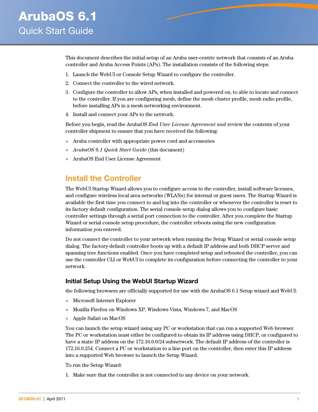 ArubaOS 6 1 - Support Aruba Networks | manualzz com