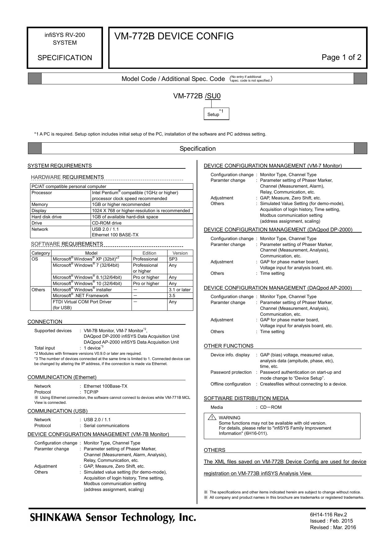 VM-772B DEVICE CONFIG | manualzz com