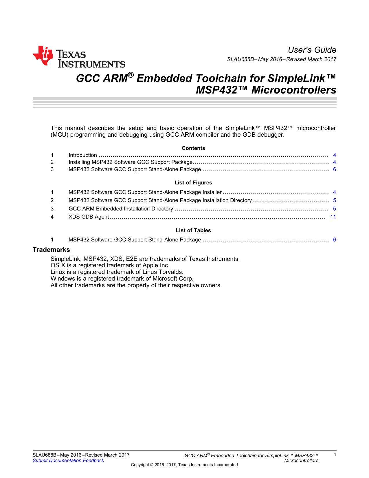 GCC ARM® Embedded Toolchain for   manualzz com