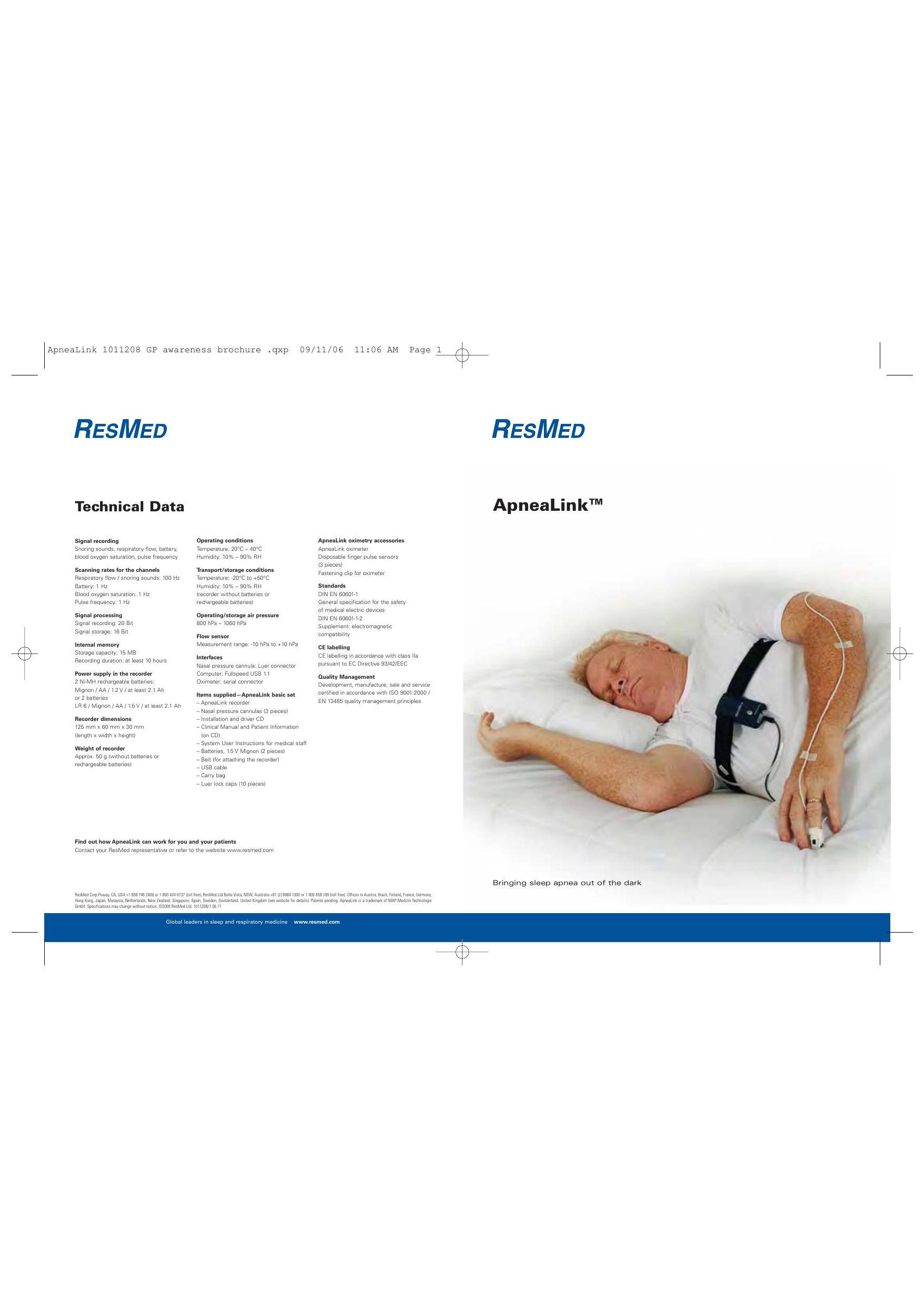 ApneaLink | manualzz com