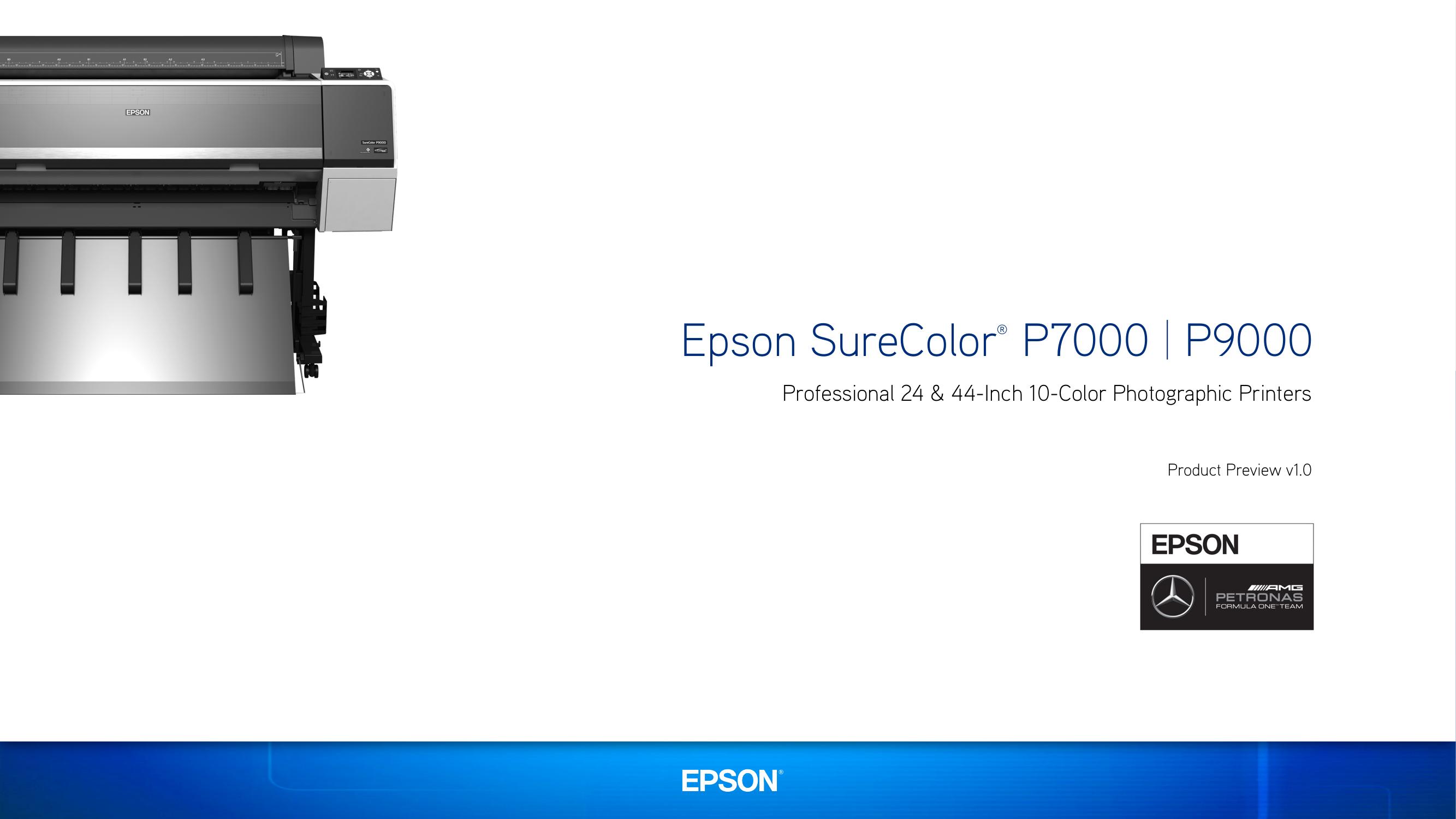 Epson SureColor P7000_P9000 PRV v1d | manualzz com