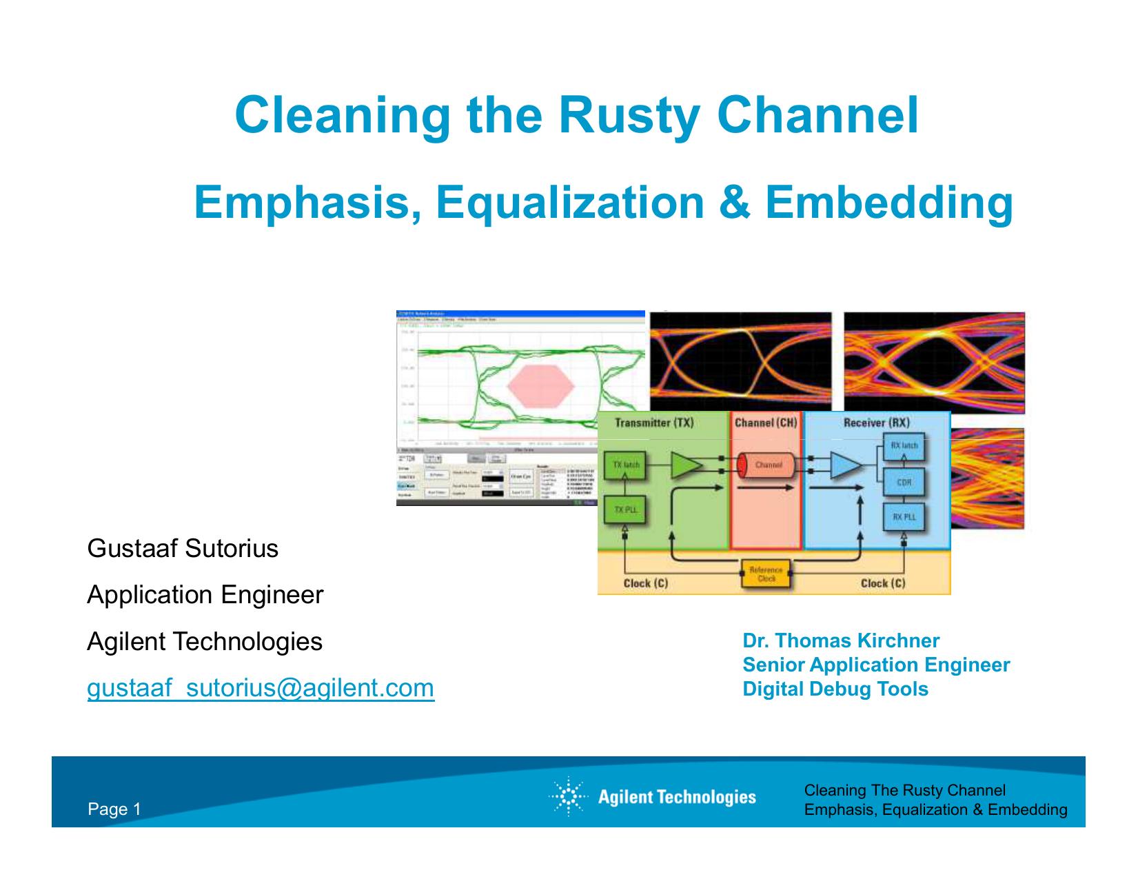 2 Emphasis - Equalization - Embedding High Speed | manualzz com
