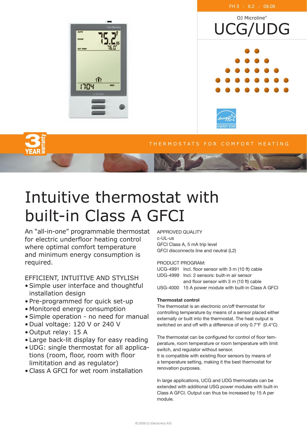 USG-4000 Power Module With Class A GFCI