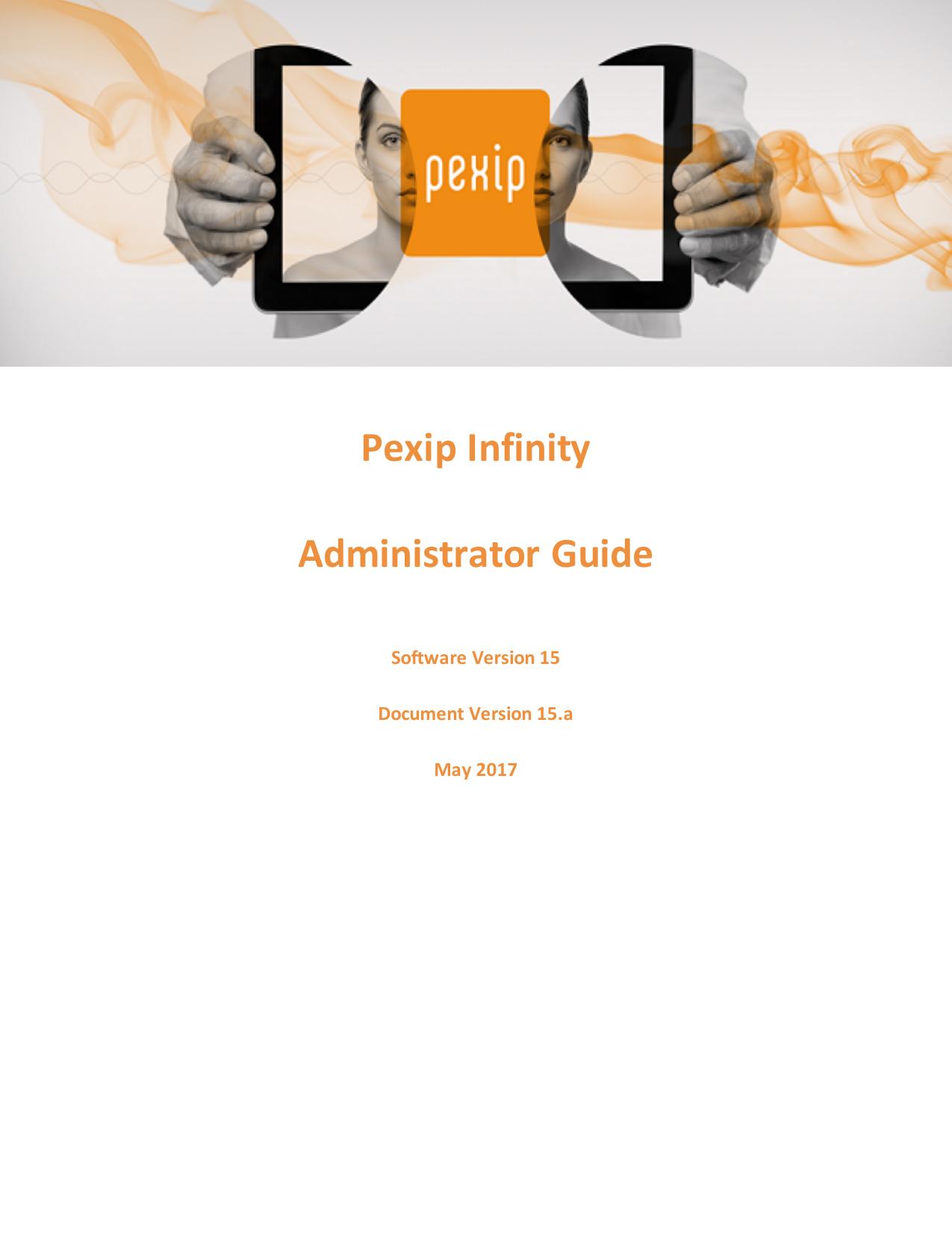 Pexip Infinity Administrator Guide   manualzz com