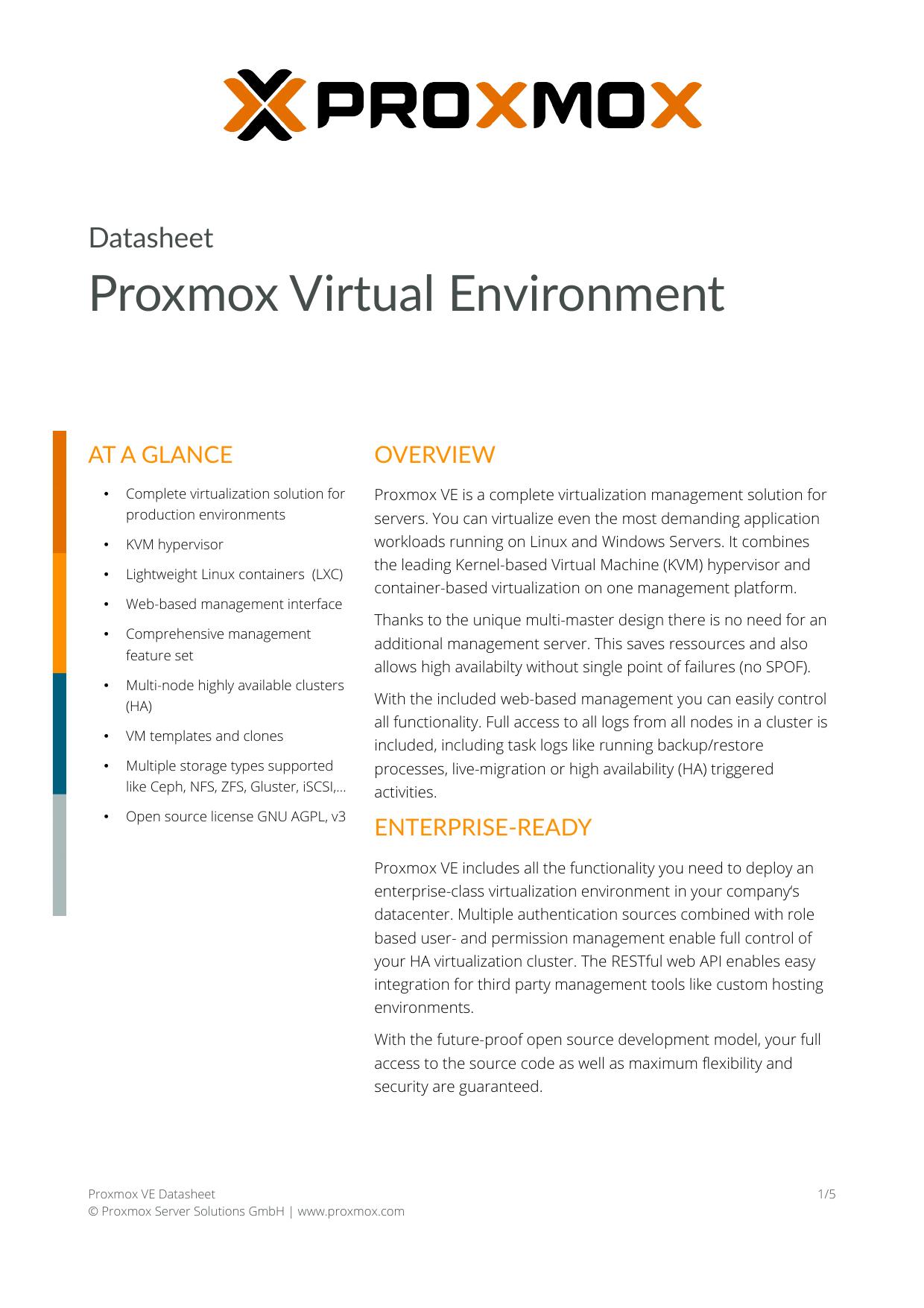 Proxmox Mail Gateway Datasheet | manualzz com