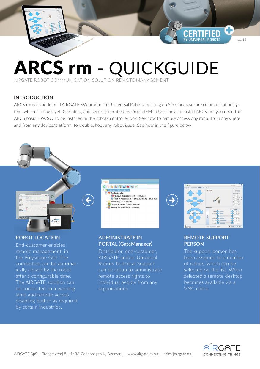 ARCS rm - Airgate | manualzz com