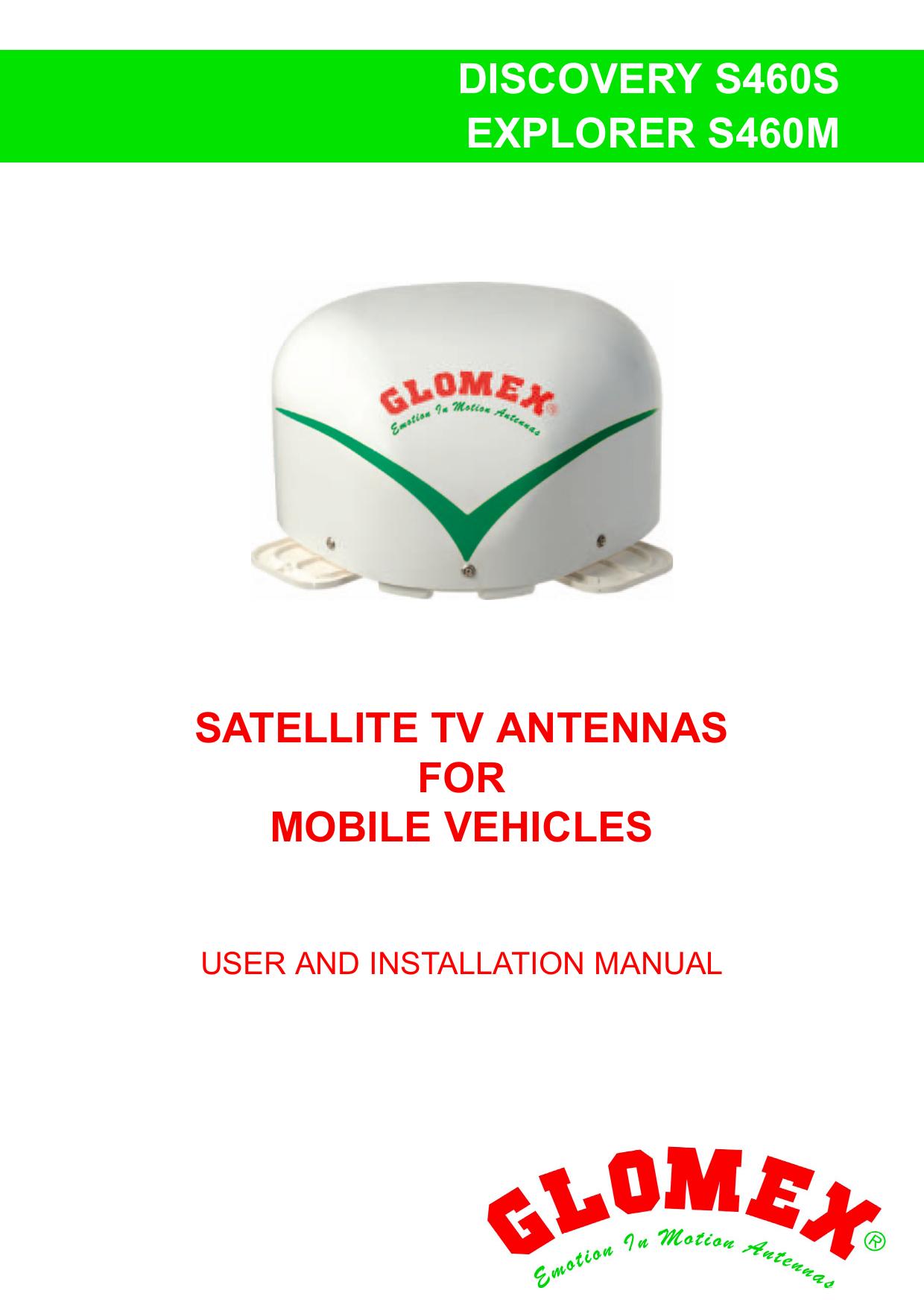 discovery s460s explorer s460m satellite tv antennas for
