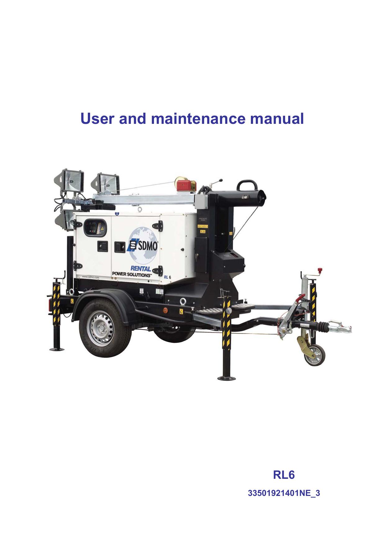 Four Air Pulsé Ou Chaleur Tournante user and maintenance manual | manualzz
