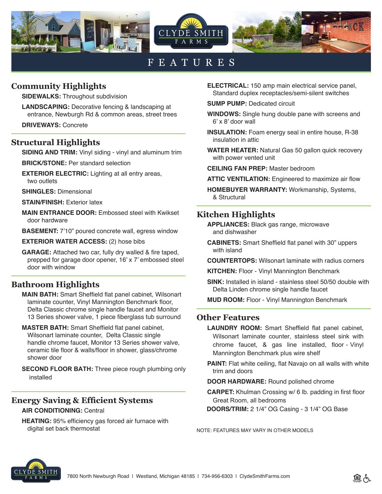 features - Clyde Smith Farms | manualzz com