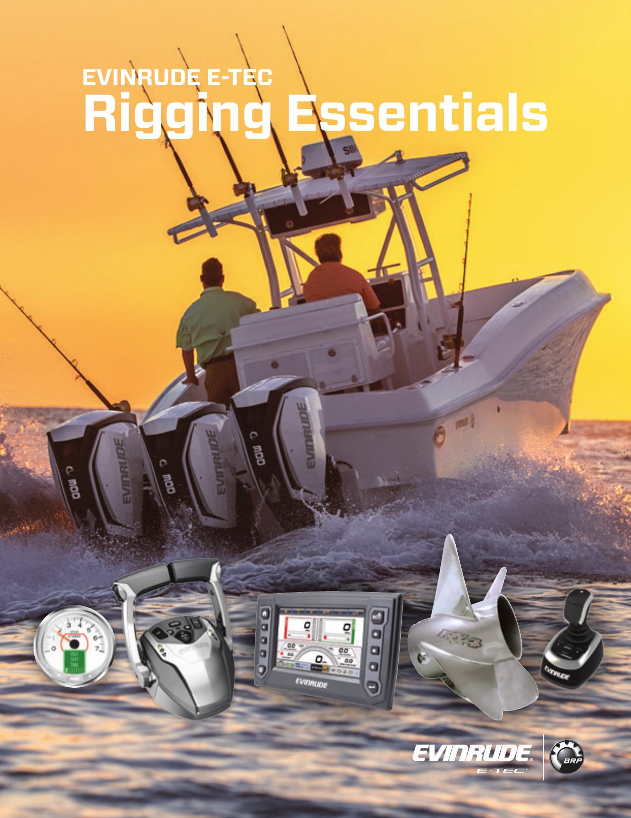 EVINRUDE E-TEC Rigging Essentials | manualzz com