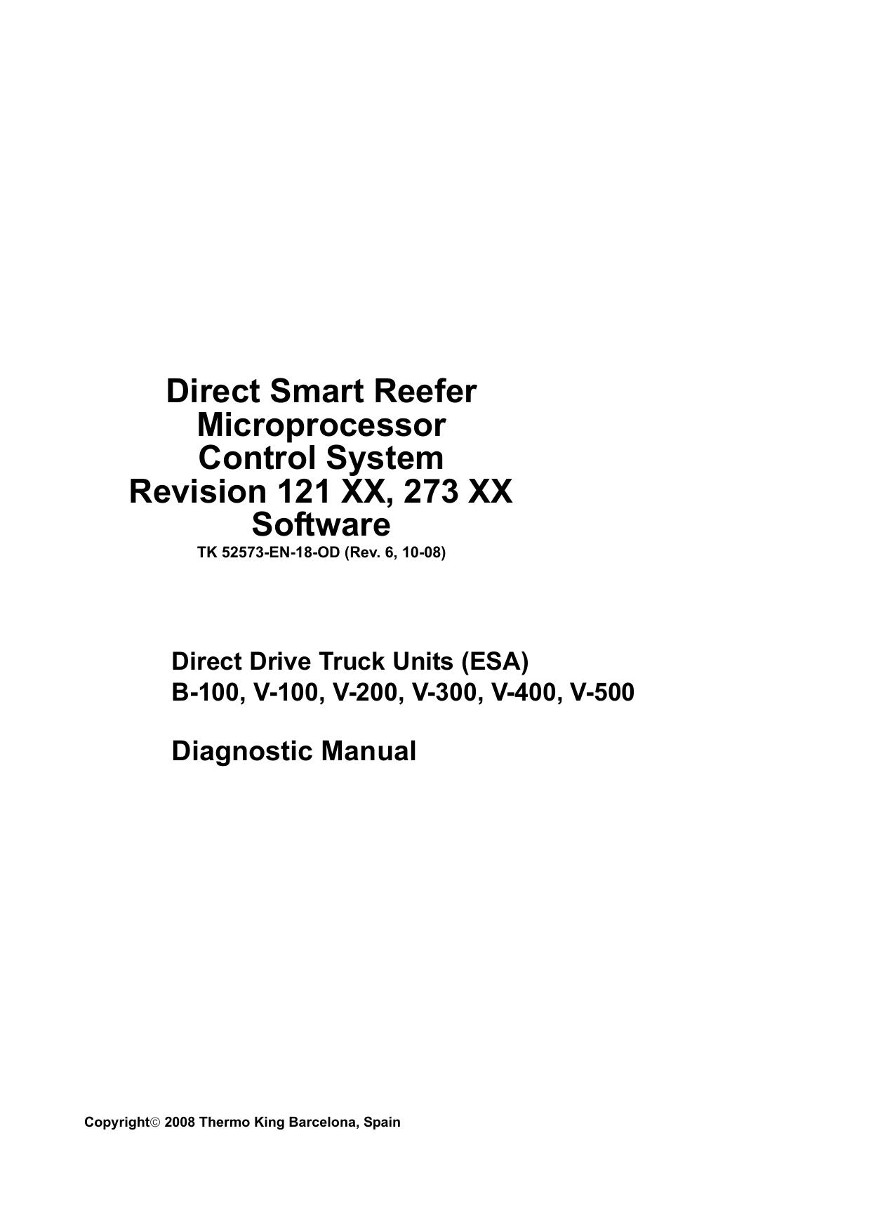 Direct Smart Reefer Microprocessor Control System | manualzz com